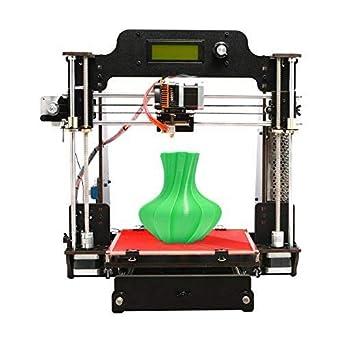 GEEETECH Impresora 3D de madera Prusa I3 Pro W Kit de bricolaje con WIFI Cloud, Tamaño de impresión 200x200x180mm Soporte para conexión Wi-Fi, ...