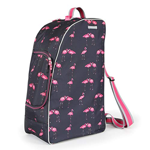 Shires Boot, Hat & Whip Bag, Flamingo, One Size