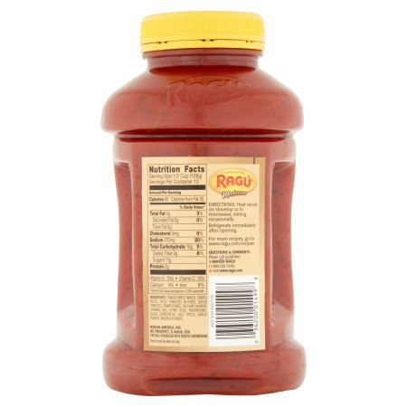 pack of 9 - Ragú Super Chunky Mushroom Pasta Sauce 45 oz. by Ragú (Image #5)