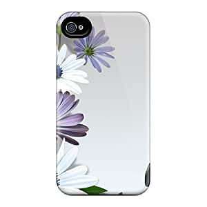 High Quality WMQ22258divj Gerber Daisies Butterfly Cases For Iphone 6