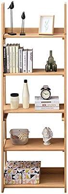 AFCITY Estantería Escalera Decorativa Librería 5-Shelf Escalera ...
