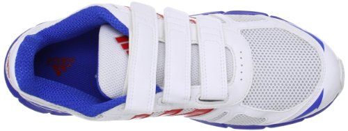 adidas Performance  Adifast CF Q23372 Unisex-Kinder Laufschuhe Mehrfarbig (Running White Ftw / Vivid Red S13 / Satellite)