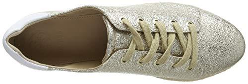 derby gold Guess Mujer Zapatillas Plati Gracen Oro Para leather HUaq0nU5