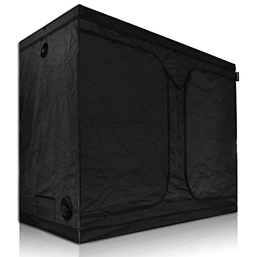41FkQN%2BGCrL - LAGarden 96x48x78 100% Reflective Diamond Mylar Hydroponics Indoor Grow Tent Non Toxic Planting Room