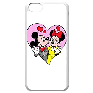 Mickey Mouse Phone Cases White For iPhone 5C NO-43