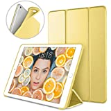 DTTO Case for iPad Mini 4,(Not compatible with Mini 5th generation 2019)Ultra Slim Lightweight Smart Case Trifold Stand with Flexible Soft TPU Back Cover for iPad mini4[Auto Sleep/Wake], Canary Yellow