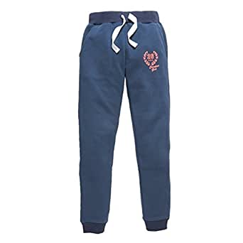 R Pop Big Girls Comfortable Fluorescent Tracksuit Trousers 10-16Ans Blue Size 12 Years - 59 In.