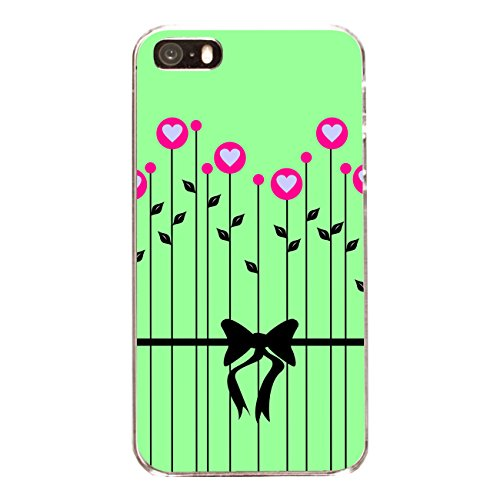 "Disagu Design Case Coque pour Apple iPhone 5s Housse etui coque pochette ""Herzblumen"""