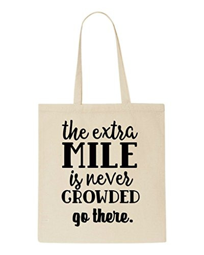 There Go Shopper Beige Bag Statement Extra Never Mile The Crowded Is Tote gCqwRa