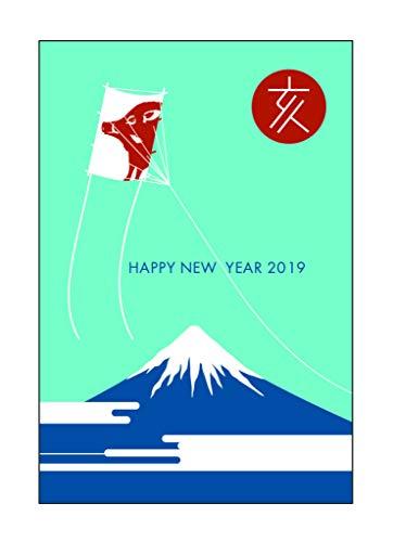 [해외]【 만든 연 하 엽서 20 장 】 2019 년 이토 굽는 오리지널 (5P× 4) PS1913 / [20 pieces of New Year postcards made by me] ito-ya original (5p × 4) PS1913