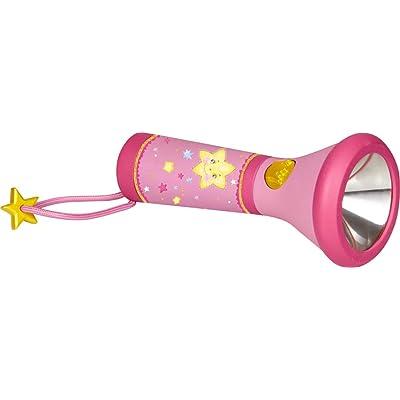 Pequeña Linterna LED Infantil de Bolsillo en Rosa de la Princesa Lillifee 3 Modos Luz