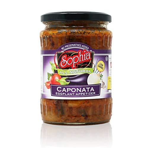 Sophia Eggplant Caponata-4 pack