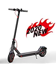 AOVO Electric Scooter, 350W Motorised Mobility Scooter Portable Folding E-Scooter with Led Light and Display 8.5inch solid rubber tires Maximum Load 264lbs Max speed 25 km/h For Adults and Teenagers