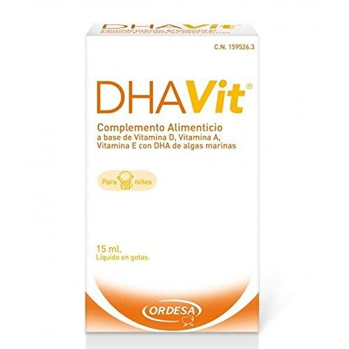 ORDESA DHA VIT 15 mL - Complemento Alimenticio: Amazon.es: Salud y cuidado personal