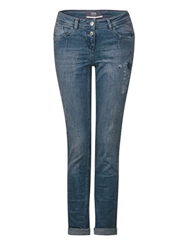 Used Femme 10349 Jean Light Bleu Wash Cecil Slim Blue BEYwCxq8