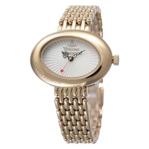 VIVIENNE WESTWOOD Ellipse GP White VV014WHGD Ladies Watch Free Shipping
