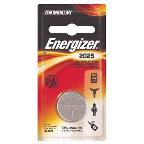 Energizer ECR2025BP Electronic Lithium 3V Batteries, (Energizer Advanced Photo Lithium Battery)