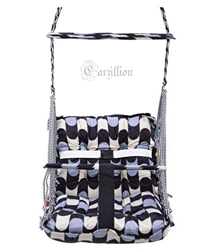 Cotton Swing for Kids Baby's Children Folding and Washable 1-3 Years with Safety Belt Home Garden Jhula for Babies for…