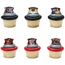 WWE Ringleaders Cupcake Rings - 24 ct