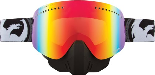 Dragon Alliance NFX Snow Goggles , Primary Color: Black, Distinct Name: Bullet/Red Ion Lens, Gender: Mens/Unisex - Goggles Dragon Nfx