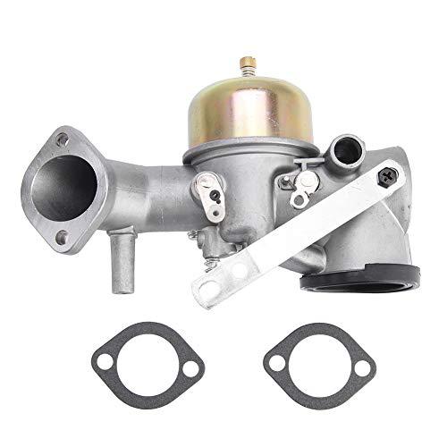 TOPINCN Kits de Juntas de carburador Aptos para Briggs& Stratton 491031 490499 491026 281707 12HP Motor Carb Repuestos para...