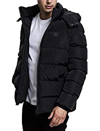 Urban Classics Hooded Puffer Winter Jacket Lined