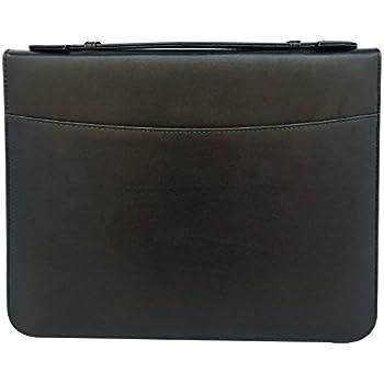 msp sale 3 rings binder portfolio transparent binder pocketssmart handle zipper closure for