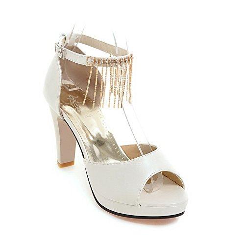 35 Bianco EU Donna Aimint Ballerine White EYR00051 wXSZ6