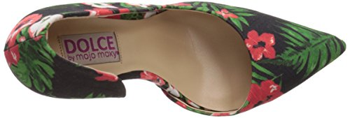 Black Floral Moxy Women's by Mojo Pump Tracy D'orsay Dolce awgBW