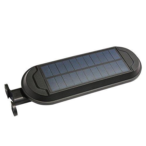 Waterproof Solar Power Motion Sensor Wall Mount LED Light Outdoor Garden Lamp BK