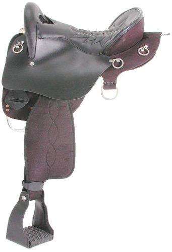 King Trekker EnduranceサドルW / O Horn 16.5 ブラック B002HNMEO8