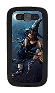 Samsung Galaxy S3 I9300 Cases & Covers - Halloween Witch Custom TPU Soft Case Cover Protector for Samsung Galaxy S3 I9300 - Black