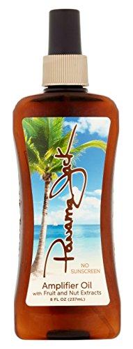 Panama Jack Amplifier Oil 8 Ounce Pump (237ml) (2 Pack)