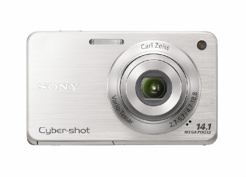 Sony Cyber-Shot DSC-W560 14.1 MP Digital Still Camera with Carl Zeiss Vario-Tessar 4x Wide-Angle Optical Zoom Lens and 3…