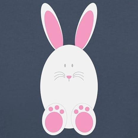 Baby//Toddler T-Shirt 3-24 Months Dressdown White Easter Bunny