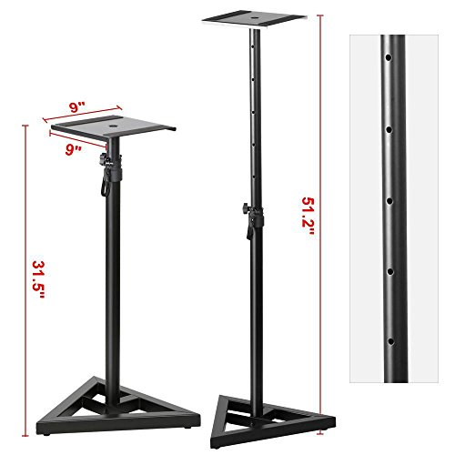 Column Studio Monitor Stand - 5