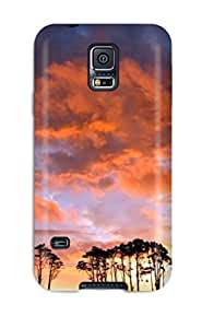 Shock-dirt Proof Desktop Case Cover For Galaxy S5