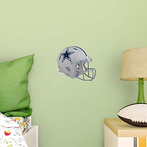 FATHEAD NFL Dallas Cowboys - Helmet Teammate- Officially Licensed Removable Wall Decal, Multicolor, Big