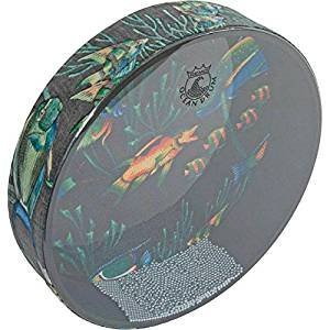 Remo OCEAN DRUM, 22'' x 2 1/2'', FISH design by YOUR WORLD INSTRUMENTS