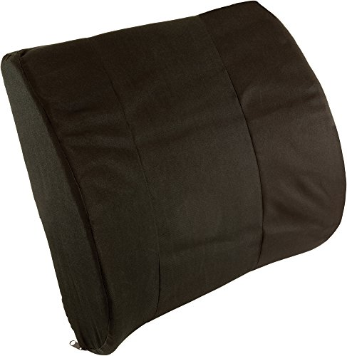 Roscoe Medical PC7121 Contoured Lumbar Cushion, Supportive Foam Back Cushion Promotes Healthy Posture, Helps Relieve and Reduce Back Stress and Pain, Great for Office Desk Chairs by Roscoe Medical