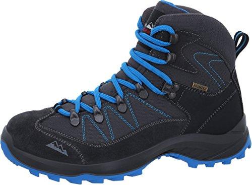 High Colorado Ultra Hike Mid High Tex Wanderschuhe Damen Anthrazit-Blau Schuhgröße 41 2018 3kOg45PU