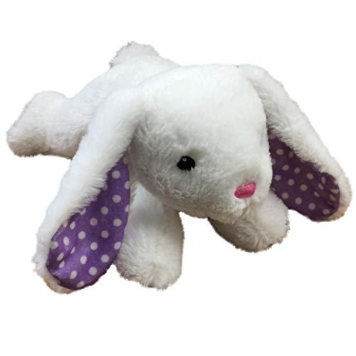 Dan Dee Plush Floppy White Lop Ear Bunny Rabbit 12 in Stuffed Animal Pal