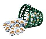 Wincraft NCAA University of Minnesota Bucket of 36 Golf Balls