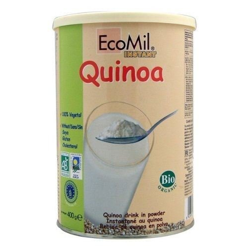 Ecomil Organic Quinoa Milk Powder No Added Sugar 400g (Pack of 3) by Ecomil