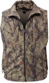 Full Fleece Zip Gear Natural - Natural Gear Full-Zip Fleece Vest (XL)- Natural Camo