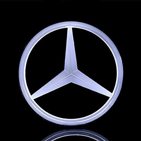Amazon.com: Auto Sport - Emblema LED blanco para coche con ...