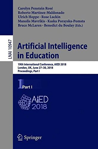 Artificial Intelligence in Education: 19th International Conference, Part I Front Cover