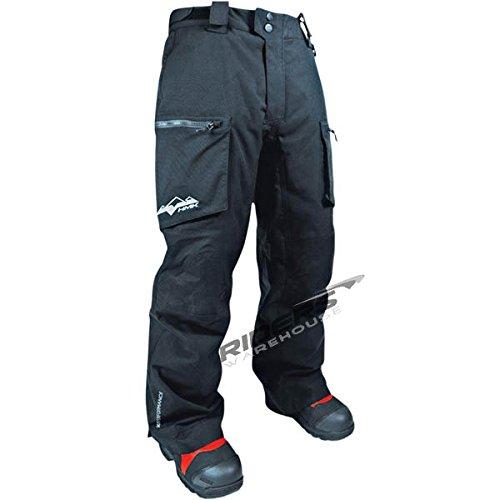 HMK Superior TR Pants , Gender: Mens/Unisex, Primary Color: Black, Size: XL, Distinct Name: Black HM7PSUP2BX by HMK