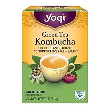 (Yogi Tea Kombucha Green Tea 16 ea ( pack of 2))