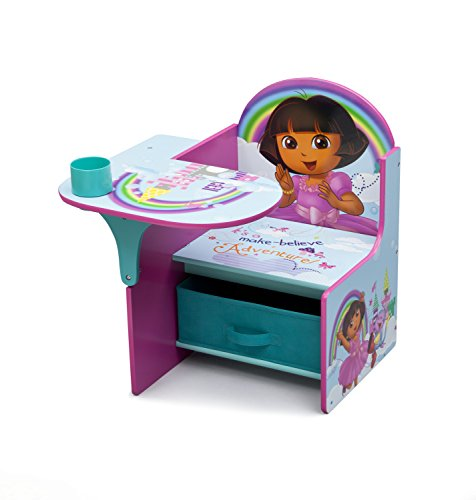 Paw Patrol Toy Organizer Bin Cubby Kids Child Storage Box: With MK Delta Children Chair Desk With Storage Bin, Nick